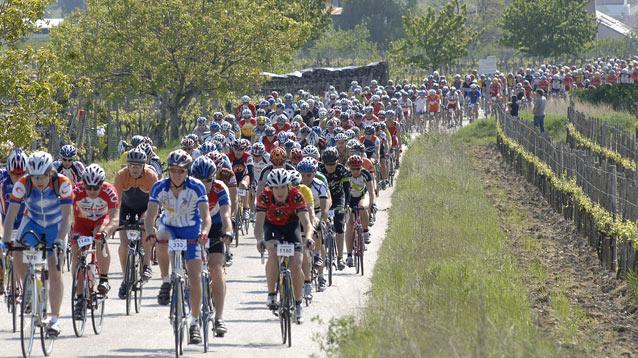 Foto auf Neusiedler See Radmarathon