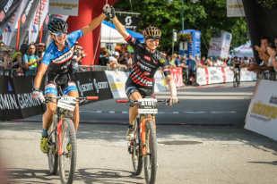 Salzkammergut Trophy 2018 A-Strecke Sieger Damen (Foto: Sportograf)