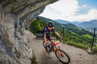 Jenny Roger (SUI) - 2. Platz Salzkammergut Trophy 2018 - Strecke B (Foto: sportograf.de)